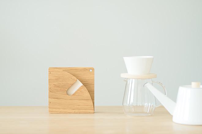 park | 木印 / コーヒーフィルターホルダー