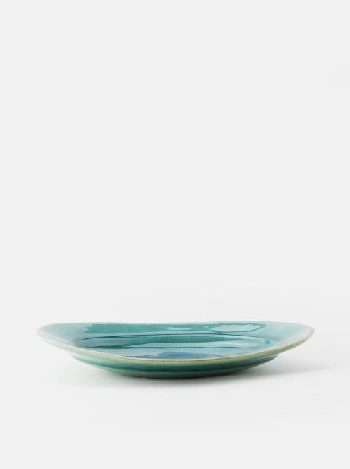 awabi ware / オーバル皿M(トルコ青)