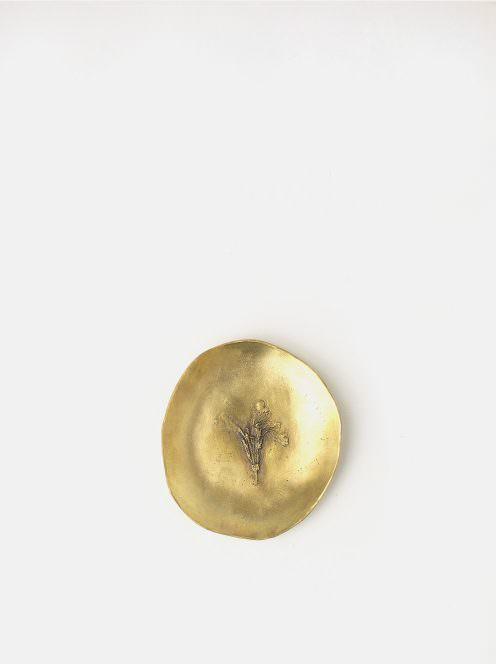 lump / ルッコラの花の小皿