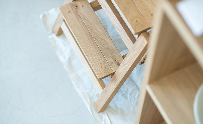 park | 木印の踏み台