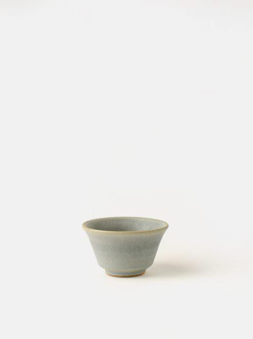 awabi ware / ぐい呑み(青マット)