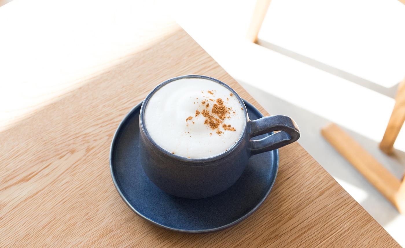 アレンジコーヒー(黒糖生姜カフェオレ)