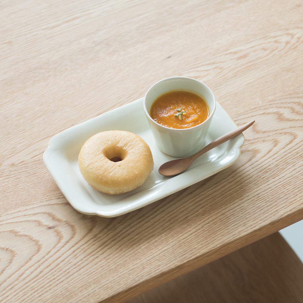スープとドーナツのセット