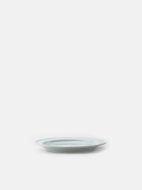 典型 / 瀬戸 18cm (bright blue white)