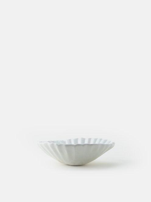 orumina kiln / 貝殻ボウル(光沢白)