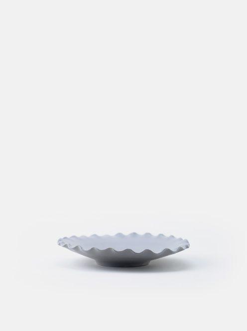 orumina kiln / なみぶち皿(グレー)