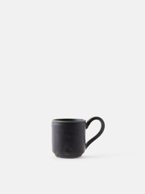 orumina kiln / マグカップ中(黒)