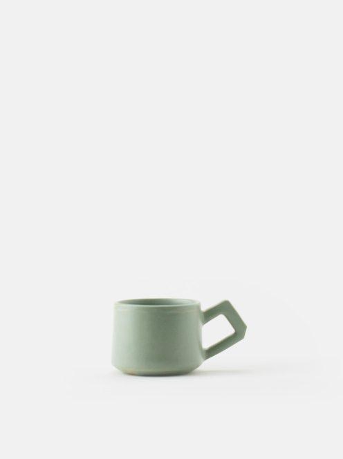 orumina kiln / カフェオレカップ(ライトグリーン)