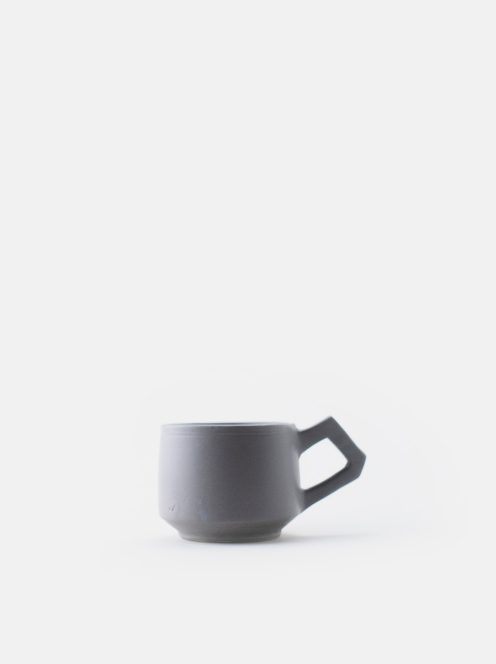 orumina kiln / カフェオレカップ(ライトグレー)