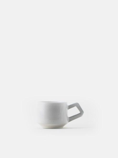 orumina kiln / カフェオレカップ(白)