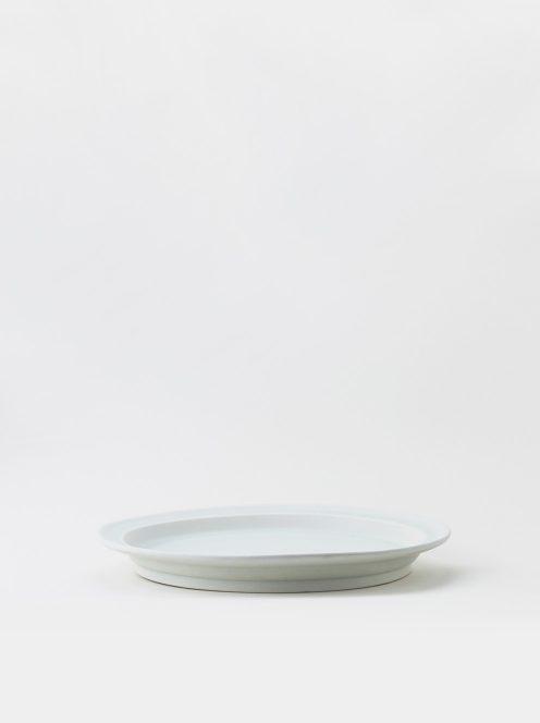 Luft / Erde Plate / 益子 25cm (白マット)