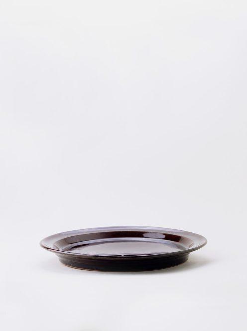 Luft / Erde Plate / 益子 25cm (飴)