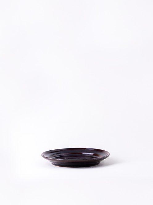Luft / Erde Plate / 益子 17cm (飴)