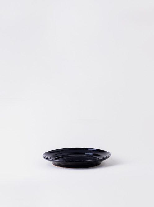Luft / Erde Plate / 益子 17cm (ツヤ黒)