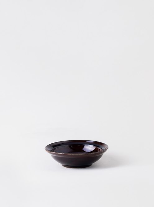 Luft / Erde Shallow Bowl / 益子(飴)