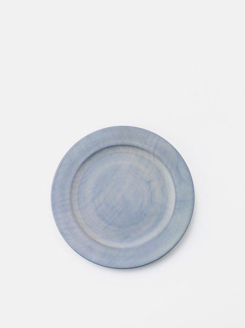 awabi ware / パン皿・小(墨染白拭き漆)
