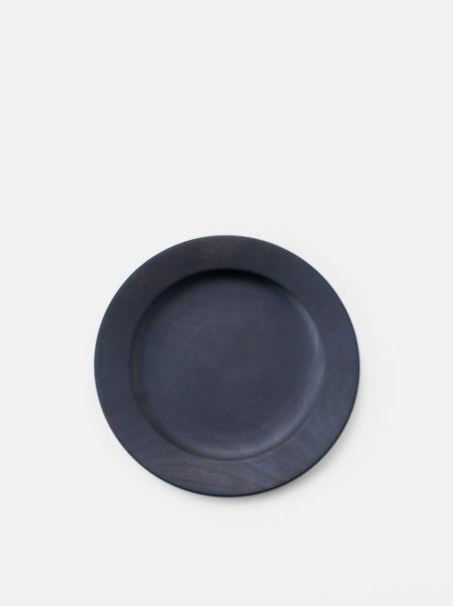awabi ware / パン皿・小(黒拭き漆)