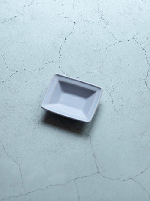 awabi ware / 長方豆皿(パープル)