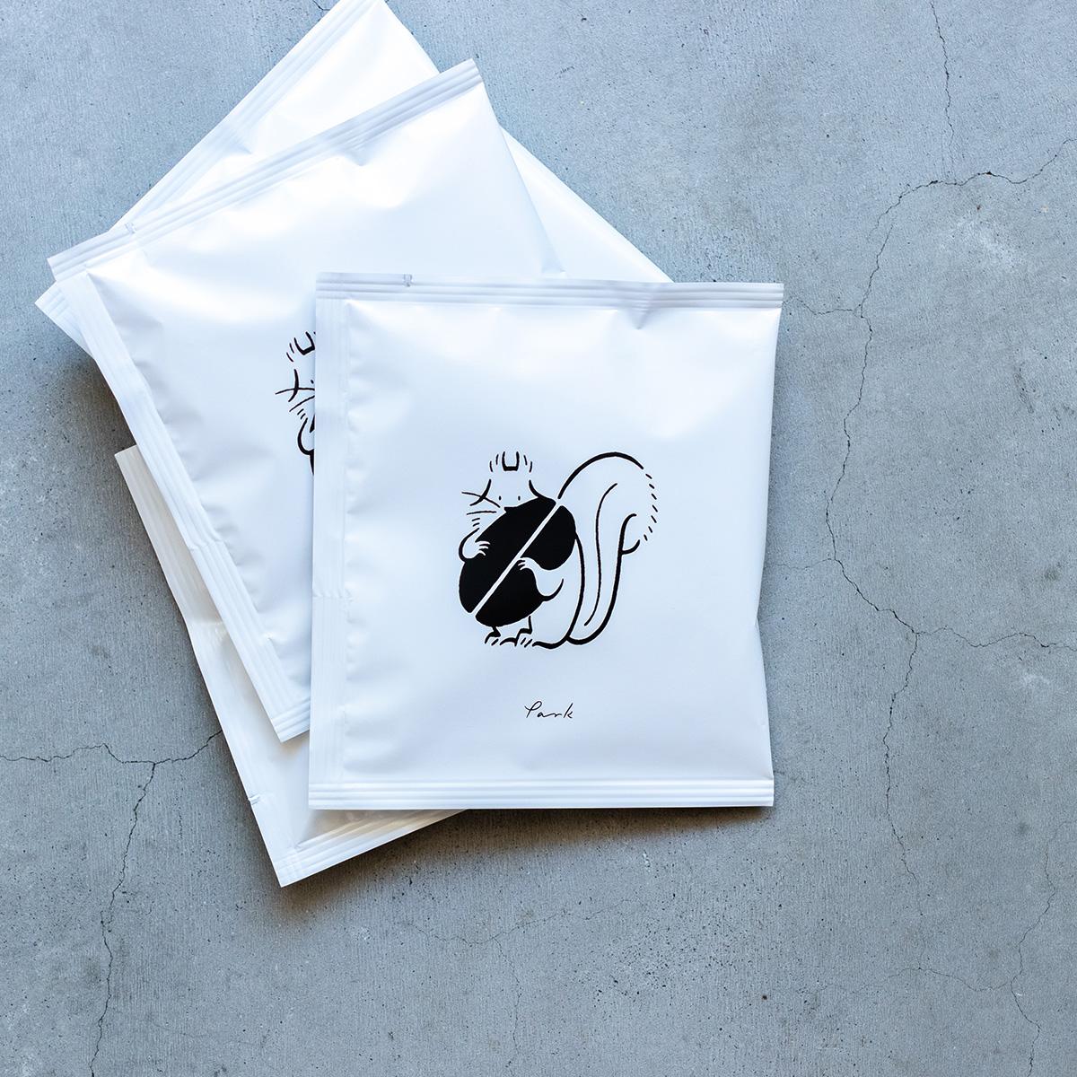 【新入荷】parkディップスタイルコーヒーバッグ