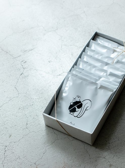 parkディップスタイルコーヒーバッグ(10個パック・ギフトボックス入り)