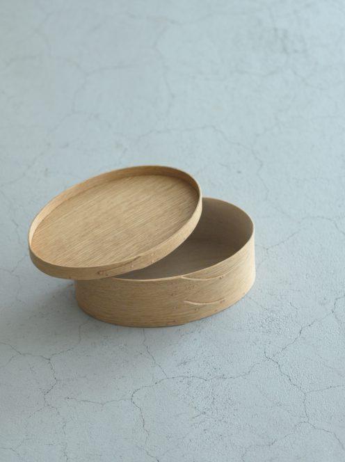 IFUJI BOXMAKER / Oval Box(ナラ)5