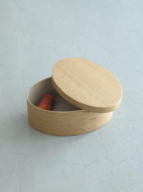 IFUJI BOXMAKER / Oval Box(ナラ)4