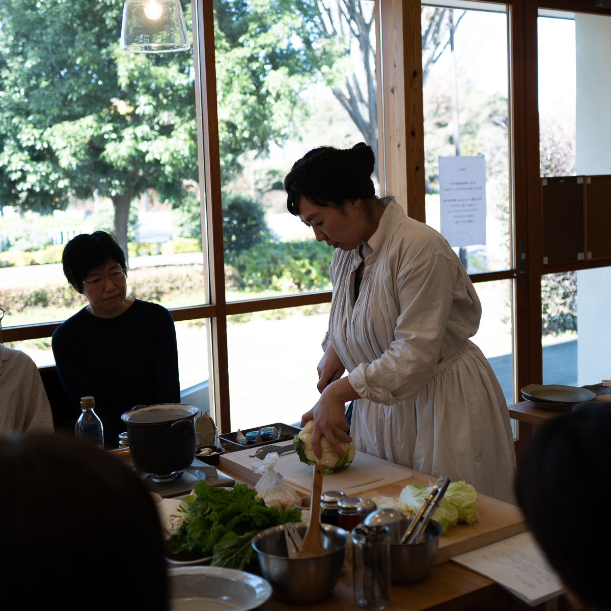 park | 【あたらしい日常料理 ふじわら 藤原奈緒さんの 料理教室と 食事会】11月21日開催