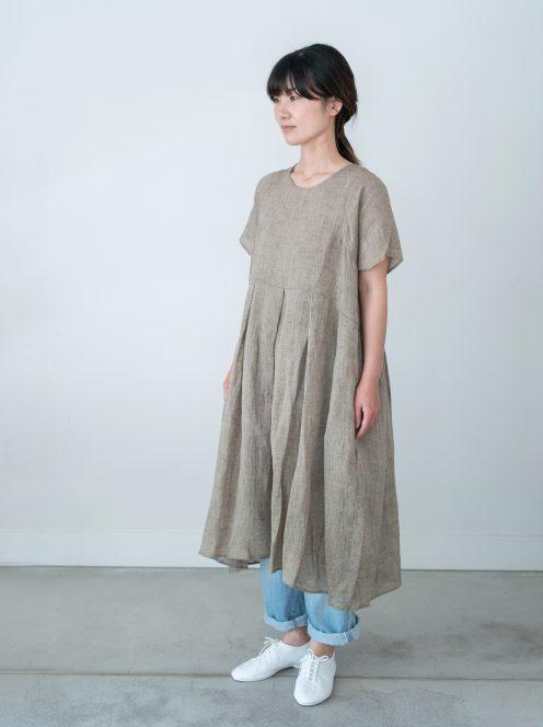 Art de V. / SOFA DRESS(vintage linen)