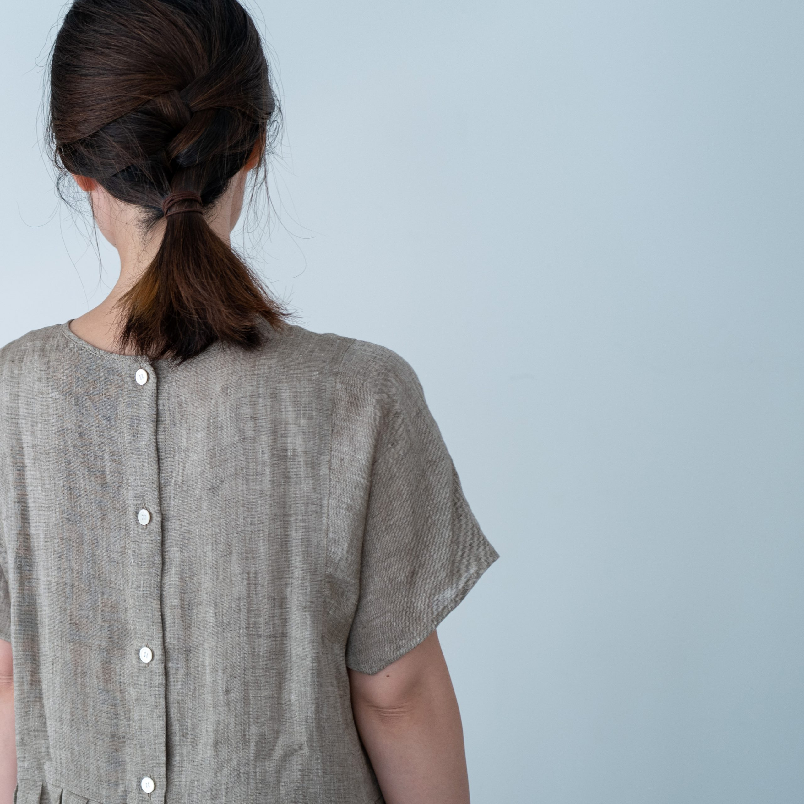 SOFA DRESS(vintage linen)