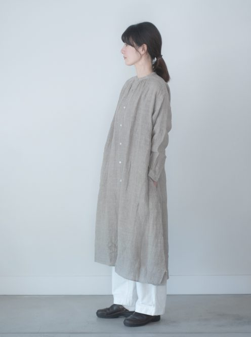 Art de V. / BOL DRESS(Gaze linen)