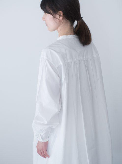 Art de V. / SMOCK FROCK(cotton white)