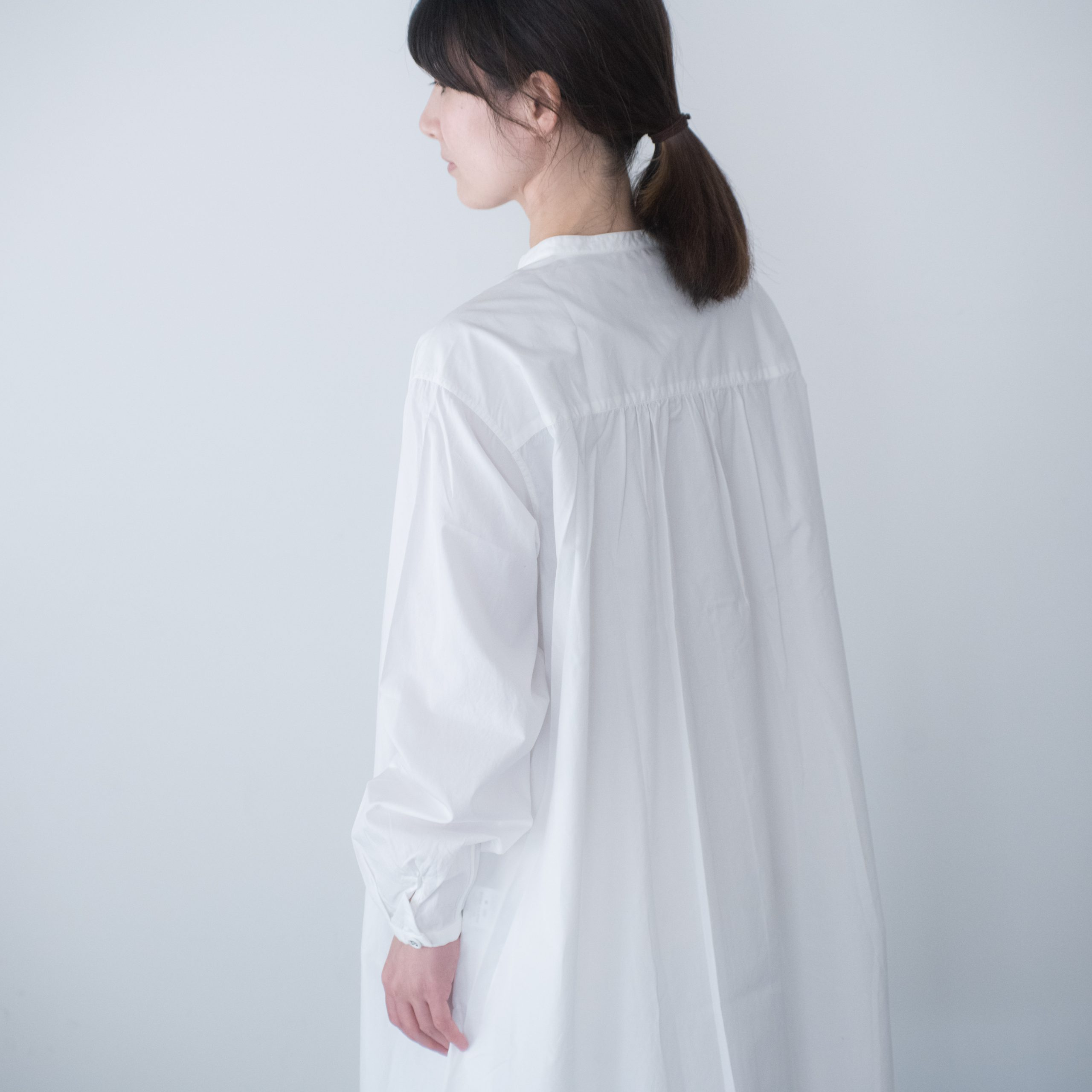 SMOCK FROCK(cotton white)