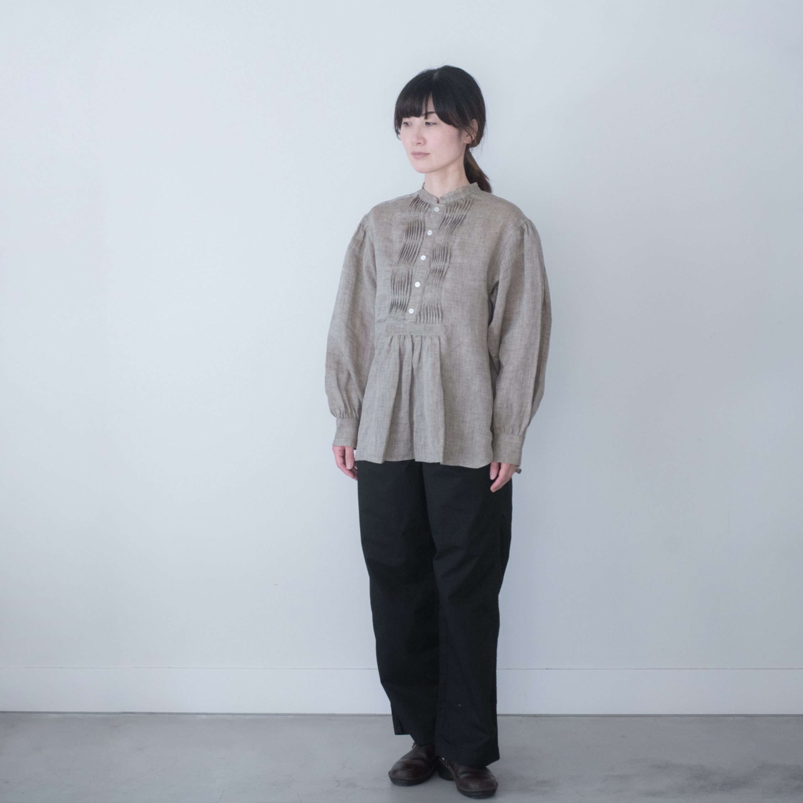 TUNICA SHIRT(vintage linen)