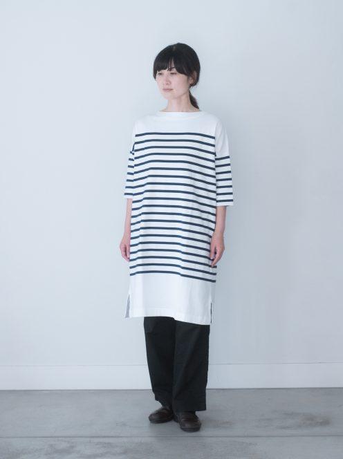 Art de V. / MARINE DRESS short sleeve