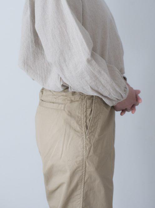 Art de V. / CHEF PANTS(cotton linen beige)