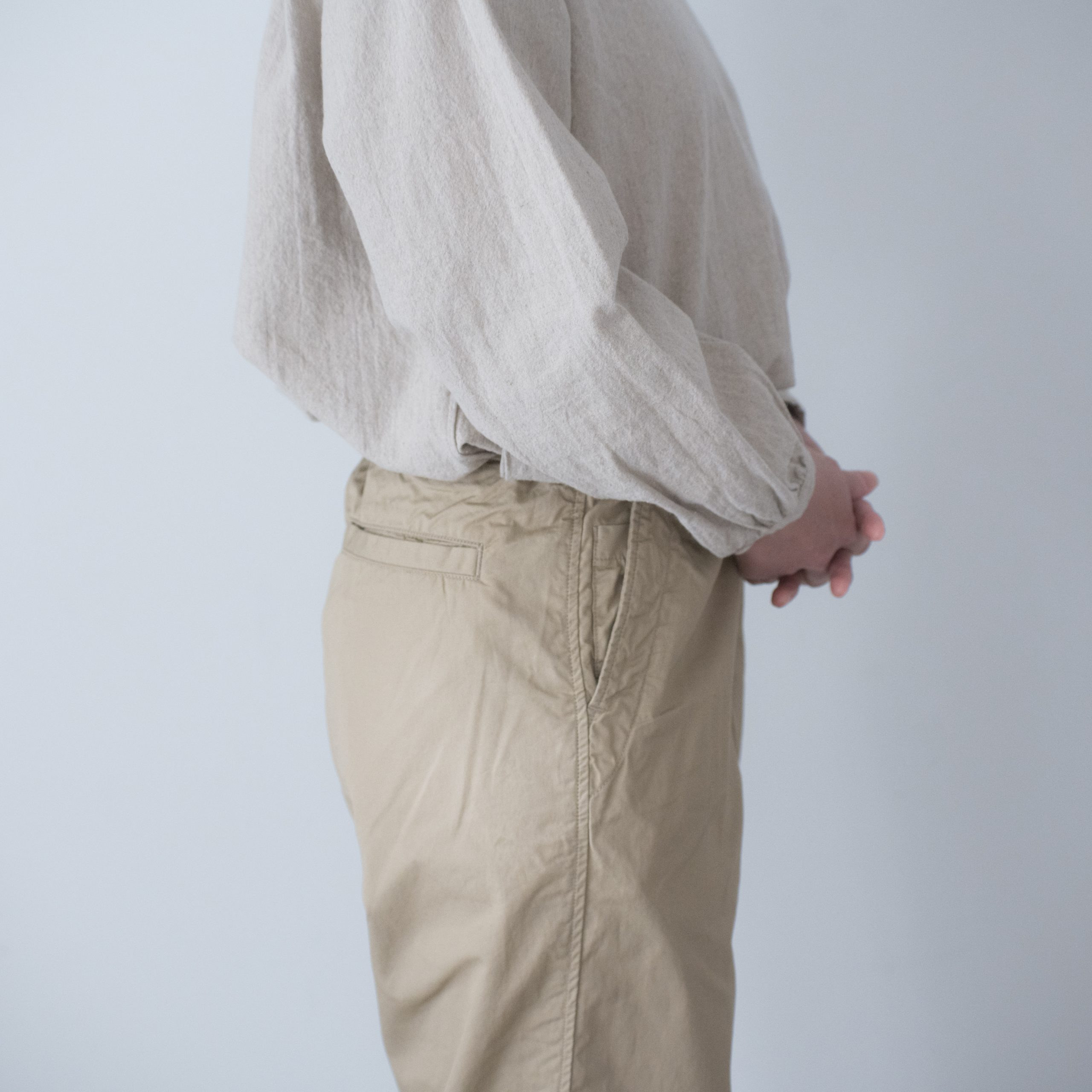 CHEF PANTS(cotton linen beige)