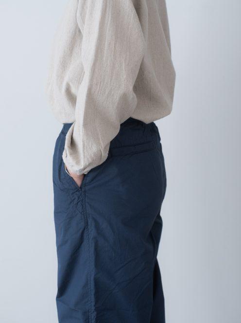 Art de V. / CHEF PANTS(cotton linen blue)