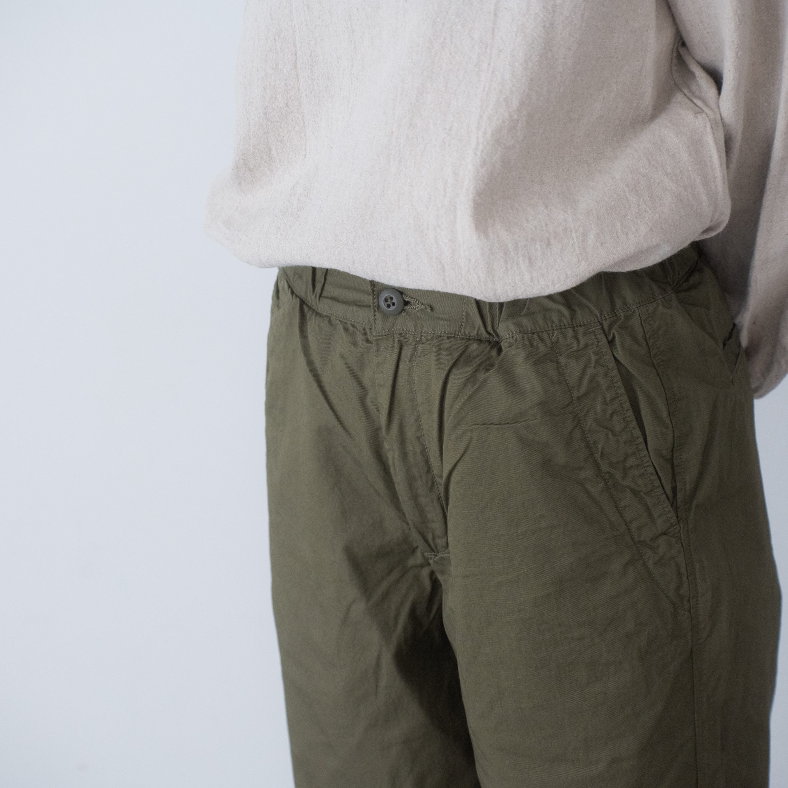 CHEF PANTS(cotton linen khaki)