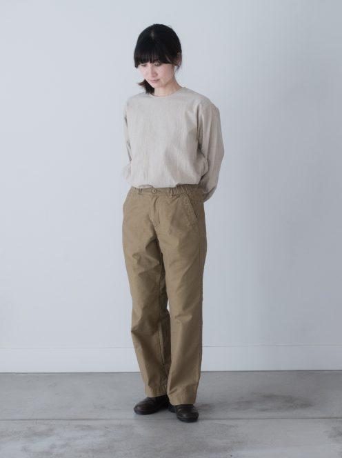Art de V. / CHEF PANTS(cotton beige)