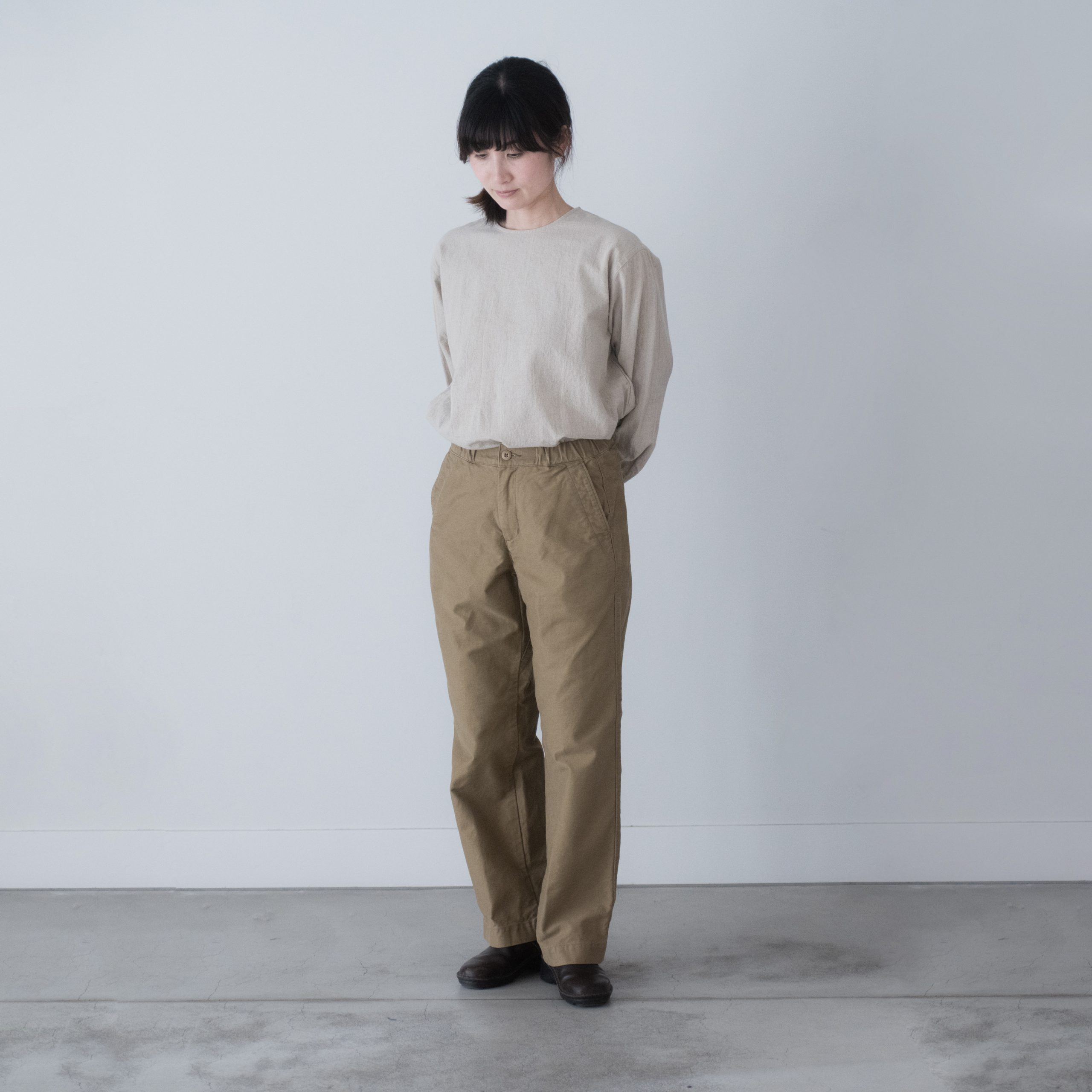 CHEF PANTS(cotton beige)