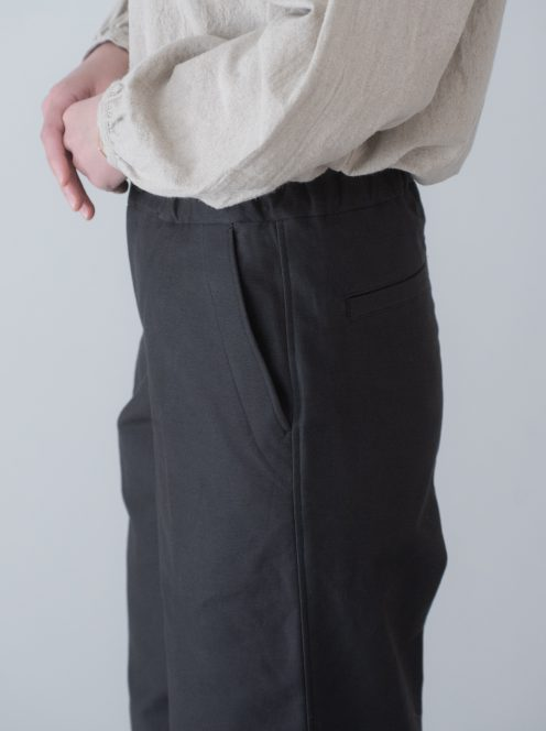 Art de V. / CHEF PANTS(cotton charcoal grey)