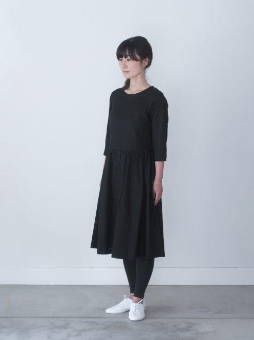 Art de V. / JOUER DRESS ( black)