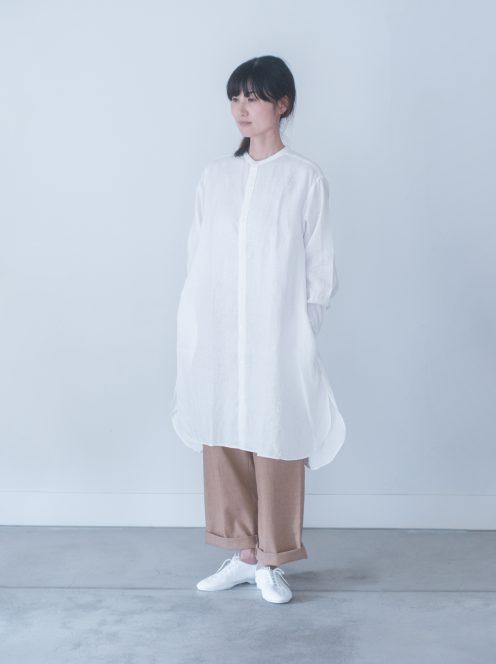 Art de V. / SMOCK FROCK(linen white)