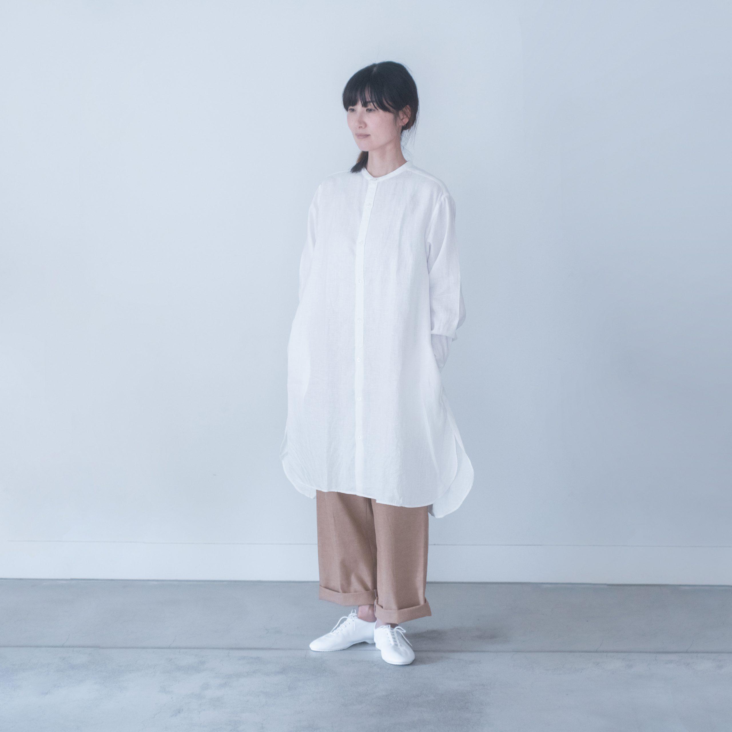 SMOCK FROCK(linen white)