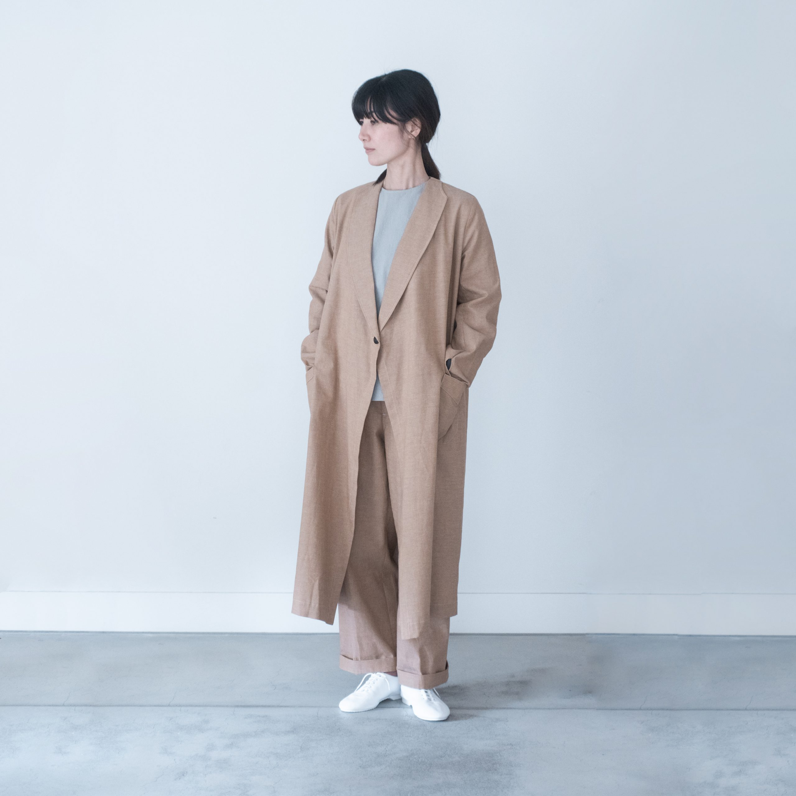 ROBE COAT(original 茶綿)