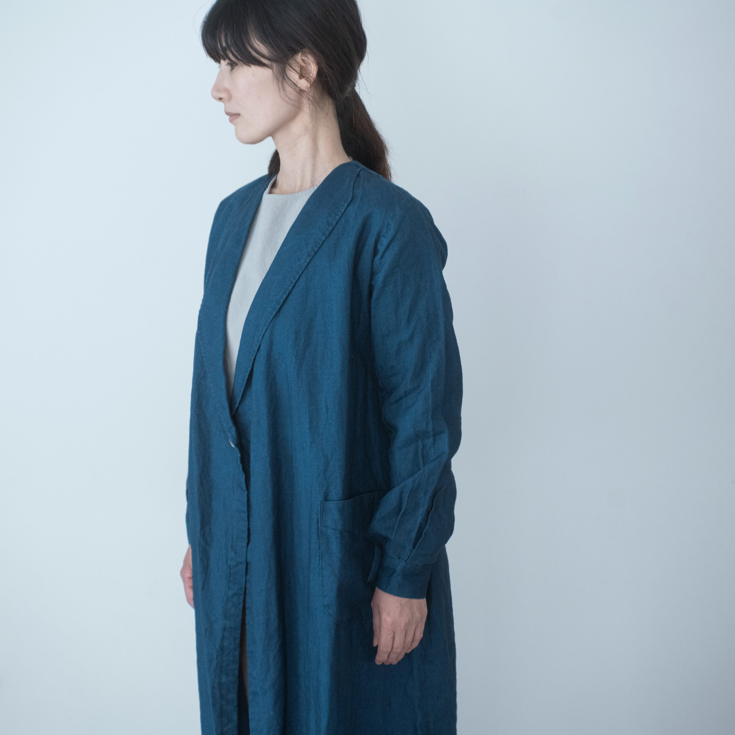ROBE COAT(deep indigo)