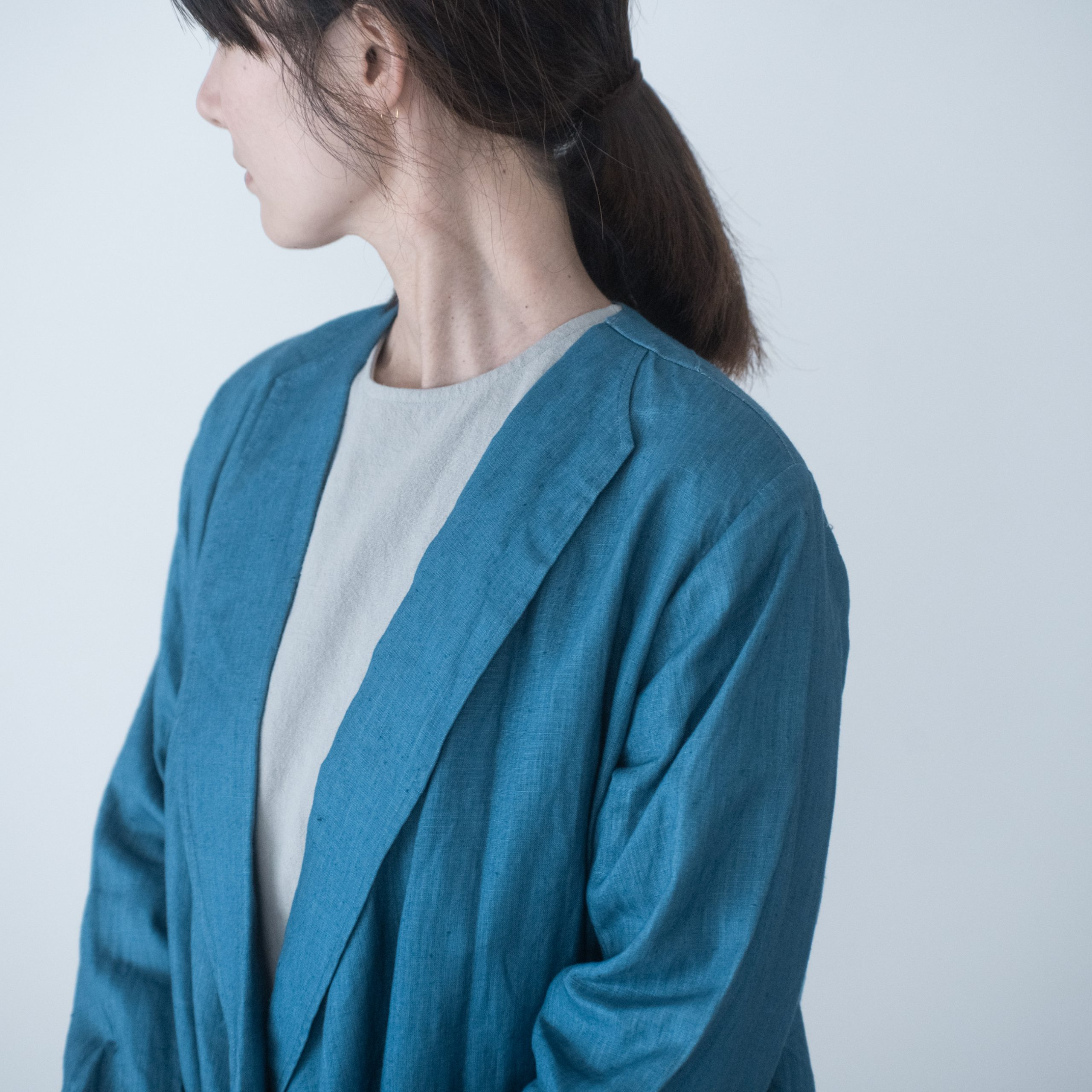 ROBE COAT(light indigo)