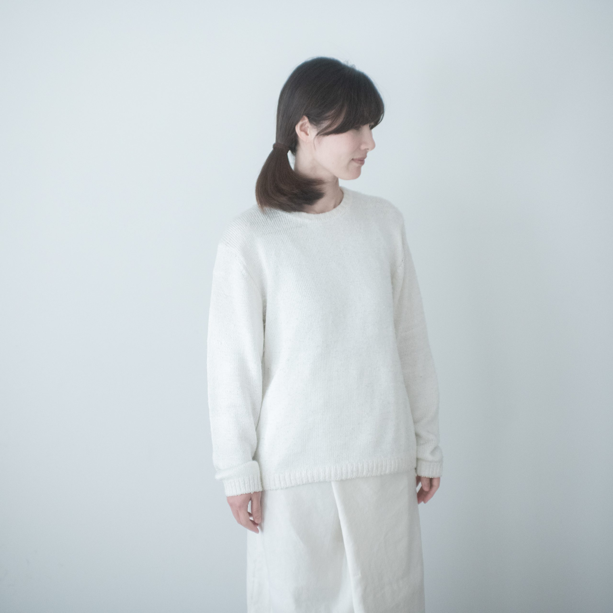 silk knit(snow)