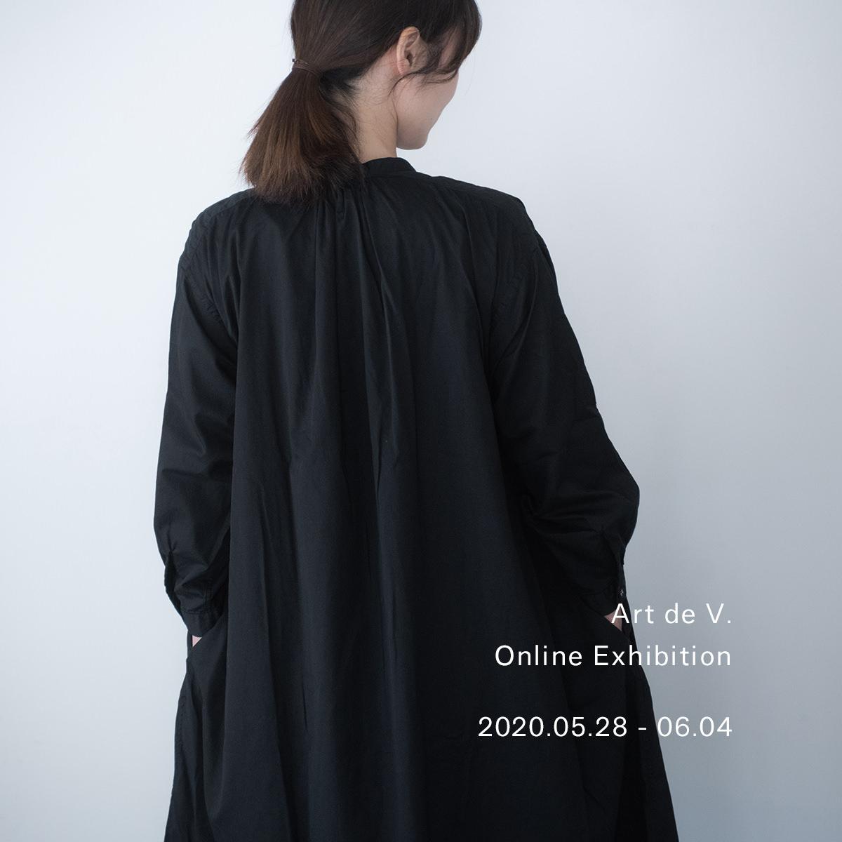 5.28 – 【Art de V. Online Exhibition】開催のお知らせ