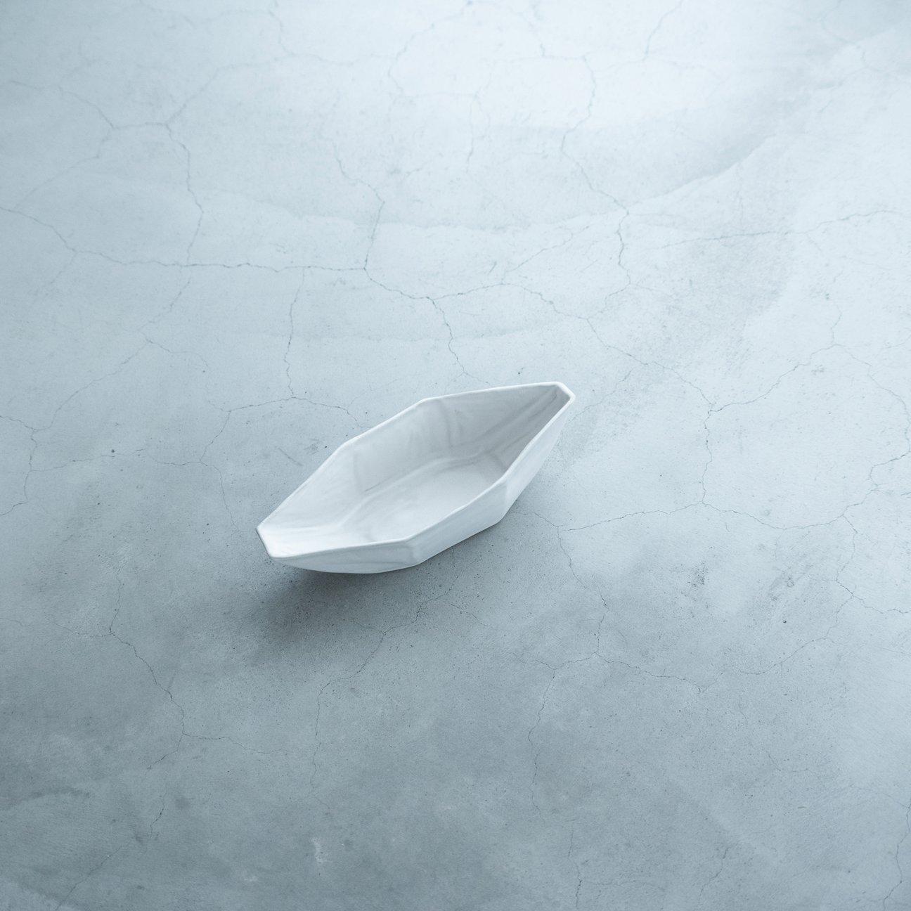 オクトゴナル船形(白)